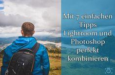 Du benutzt hauptsächlich Lightroom und wagst dich selten an Photoshop? Schade, dabei arbeiten die beiden Programme perfekt zusammen! In diesem Artikel erfährst du in 7 einfachen Tipps, wie du Lightroom und Photoshop kombinieren kannst, um deinen Fotos den letzten Schliff zu geben.