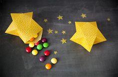 3D Paper Star Box