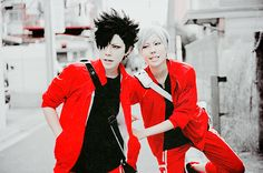 Kuroo and Lev from Haikyuu!!