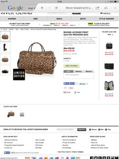 In love with this holdall & have 3 occasions from 13 April I could use it !!!