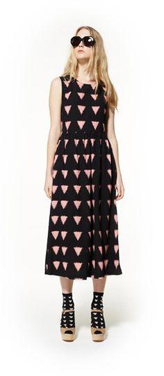 one direction dress, horizon sunglasses & running from the sun heel http://www.gormanshop.com.au/