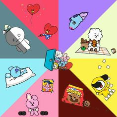 Read from the story ↠》Si estuvieras en BTS《↞ Pedidos abiertos by Bangtanchurros_ (Bunny bunny 轉) with reads. Bts Chibi, Bts Bangtan Boy, Bts Jimin, Bts Name, Bt 21, Fanart, Little Brothers, Bts Drawings, Line Friends