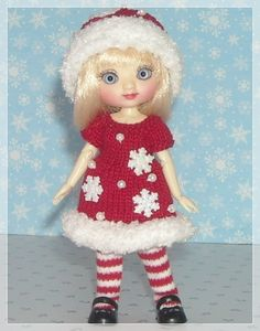 Amelia Thimble Dolls by Wilde Imagination Red by JCsTinyTreasures, $25.00