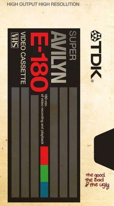 80s VHS Tribute Posters | WANKEN - The Art & Design blog of Shelby White