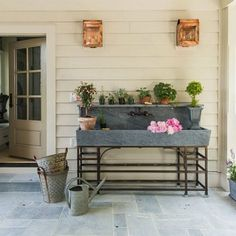 potting shed at Southern Living Idea House