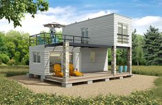 Building A Container Home, Container Buildings, Container Architecture, Architecture Design, Shipping Container Home Designs, Container Design, Tiny House Cabin, Tiny House Design, Container Conversions