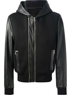 GIVENCHY - paneled bomber jacket 7