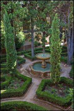 Courtyard Garden by Prue McKettary
