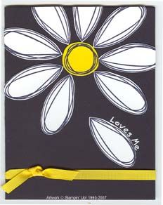 daisy by SharonB - Cards and Paper Crafts at Splitcoaststampers