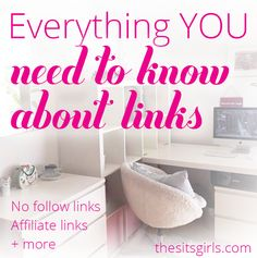 An overview of the different kinds of links you can share within your blog posts. Learn how links drive more pageviews and build authority in your niche.