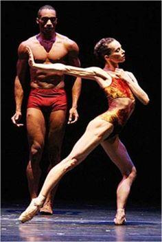 "Diana Vishneva and Desmond Richardson in ""Three Point Turn"" - Ballet, балет, Ballett, Bailarina, Ballerina, Балерина, Ballarina, Dancer, Danza, Danse, Танцуйте, Dancing, Russian Ballet"