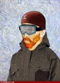 Gogh's Winter Outfit
