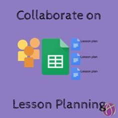 collaborate on lesson planning