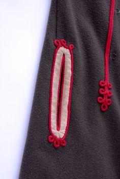 ddfdb2921cc2 South Estonia - Rõuge Man´s Coat Detail Folk Costume, Traditional Outfits,  Needle