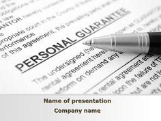 http://www.pptstar.com/powerpoint/template/personal-guarantee/ Personal Guarantee Presentation Template