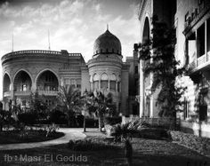 The Grand hotel, Heliopolis, Cairo, Egypt. This is now the Presidential Palace.