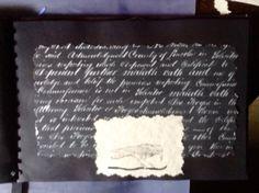 Edgar Allan Poe scrapbook