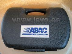 "Maletín herramientas neumátícas ABAC ""Air Tool Kit"" 63 piezas. Mod.: 8973005156 www.jsvo.es"