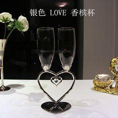 [ творческий ] европейский красный в форме сердца бокалы для шампанского костюм мужской и женского друзей , чтобы отправить свадебные подаркикупить в магазине xiangyangнаAliExpress