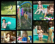Free Fun in Austin: Free Fun at Home: Backyard Water Fun - great ways to keep kids cool this summer!