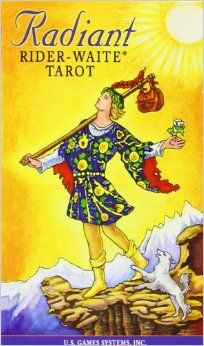 I really want to get this deck as the colours are far more intense than my norma Rider-Waite deck. Superb symbology - a real classic and definitely recommend to beginners and old hands alike. <3 <3 <3 Radiant Rider-Waite Tarot Deck  http://www.silvermoonreiki.co.uk/