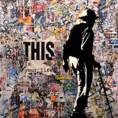 """Saatchi Art Artist Tehos Frederic CAMILLERI; Collage, """"This is your Life"""" #art"""