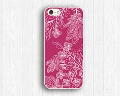 Pink floral iPhone 5s Casevivid floral iPhone 5 by FindPhonecase, $9.99