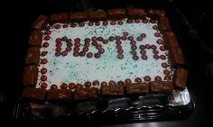 Dustyns 12th bday cake