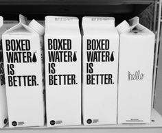 Ive always wanted to try boxed water. I dont know why im obsessed with it, its just water but. its boxed soo. Yummy Drinks, Yummy Food, Fancy Drinks, Boxed Water Is Better, Jugo Natural, Box Water, Tumblr Photography, Aesthetic Food, Aesthetic Coffee