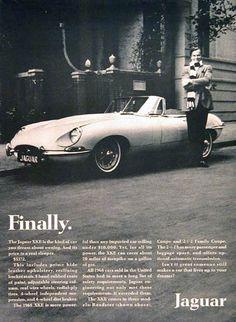 Items similar to 1968 Jaguar XKE Convertible Roadster Car Print Ad Vintage Automobile Advertisement Garage Wall Art Gift for Him on Etsy Jaguar Xk, Jaguar E Type, Jaguar Cars, Mad Men, Roadster Car, Automobile, British Sports Cars, Automotive Photography, Car Advertising