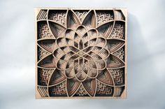 Laser-cut and densely layered wooden artworks by Gabriel Schama | Creative Boom