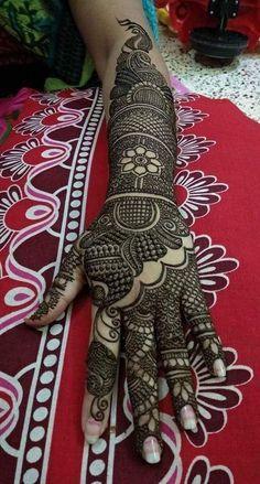 Peacock Mehndi Designs, Rajasthani Mehndi Designs, Back Hand Mehndi Designs, Latest Bridal Mehndi Designs, Full Hand Mehndi Designs, Mehndi Designs 2018, Mehndi Designs Book, Mehndi Designs For Beginners, Mehndi Design Photos