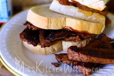 Mrs. Weasley's Vegan Bacon Butty Sandwiches - Harry Potter Recipes via http://MissKitchenWitch.com