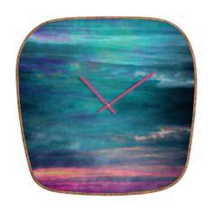 Amy Sia Ocean Sky Modern Clock | DENY Designs Home Accessories