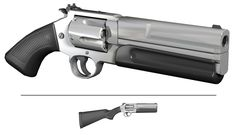 Modified S&W 500 3124 Polys Approx 8 hours work The title is spelled wrong but stupid deviantart doesn't allow &'s