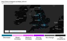 Recorded drug crime is increasing in many small towns and villages even as it falls significantly in city centres, analysis by the BBC finds. Dublin Ireland, Antwerp, Rotterdam, Newcastle, Small Towns, Belgium, Wales, Drugs, United Kingdom