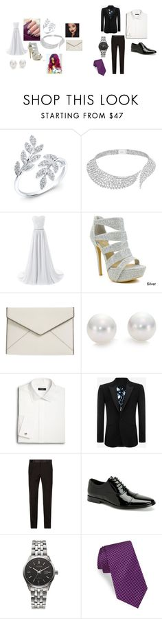 """HOF"" by chattychels12344 ❤ liked on Polyvore featuring Anne Sisteron, Messika, Celeste, Rebecca Minkoff, Mikimoto, Saks Fifth Avenue, Alexander McQueen, Dolce&Gabbana, Calvin Klein and Citizen"