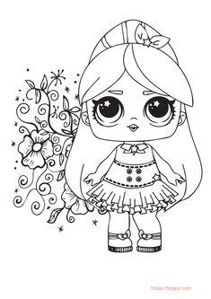 Kawaii Lol Princess Cinderella Coloring Page For Girls Christmas Unicorn, Unicorn Halloween, Halloween Books, Coloring Apps, Coloring For Kids, Adult Coloring, Cinderella Coloring Pages, Coloring Pages For Girls, Instagram Logo