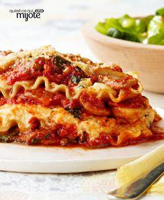 Lasagne aux légumes cuite au micro-ondes #recette