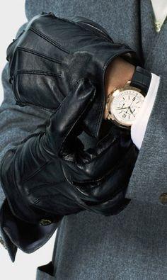 Gloved fashion menswear ♥✤