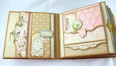 8 x 8 Gilded Lily Scrapbook Mini-Album PDF Tutorial by SoMuchScrap