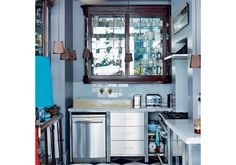 Kitchen l Be inspired by a quirky Georgian house l House Tour l PHOTO GALLERY l Livingetc l Housetohome Stainless Kitchen, Stainless Steel, Freestanding Kitchen, Living Etc, Kitchens And Bedrooms, Georgian Homes, House And Home Magazine, Apartment Design, Apartment Therapy