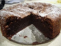 S ometimes only a good flourless chocolate cake will do on a weekend, and this one is very simple and oh so decadent... Perfect served warm ...