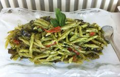 "Trofie with ""pesto"" and vegetables @carducci76hotel"