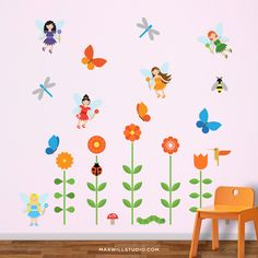 Fairy Garden Wall Decals