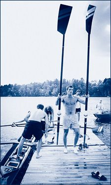 That moment when you ably have 30 seconds to get your oars out...