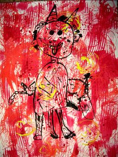 Art For Kids, Crafts For Kids, Art Activities, Advent, Christmas Cards, Kindergarten, Images, Santa, School