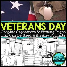 Having your students write about Veterans Day is a wonderful way to honor our veterans while strengthening their writing skills. This resource can be used with any prompts you select and is a great complement to any Veterans Day craft project too.