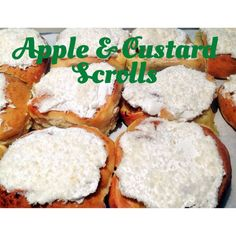 Apple and Custard Scrolls (Thermomix Method Included) « Mother Hubbard's Cupboard