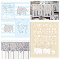 Boy Elephant Nursery Decor Jungle Ideas Glenna Jean Luna